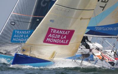 Transat AG2R La Mondiale : retour sur la première moitié du parcours pour Isabelle et Justine
