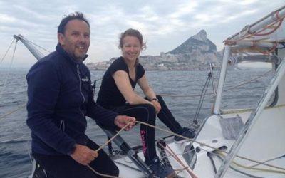 Isabelle Joschke et Alain Gautier navigueront ensemble lors des Monaco Globe Series