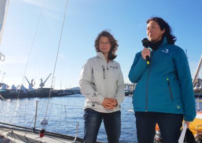 Dernière interview à Saint-Malo avec France 3 Bretagne / Droits réservés