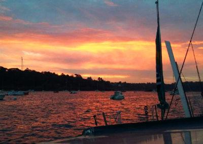 Le soleil se lève sur le grand jour du départ / Droits réservés