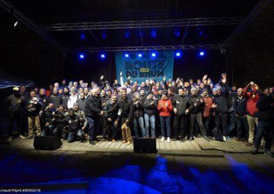 Soirée de présentation officielle des 123 skippers de l'événement / © Arnaud Pilpré #RDR2018