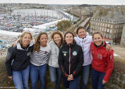 Les six femmes de la course / © Yvan Zedda #RDR2018