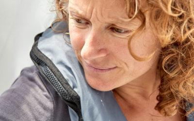 Démâtage de l'Imoca MONIN : Isabelle n'est pas blessée