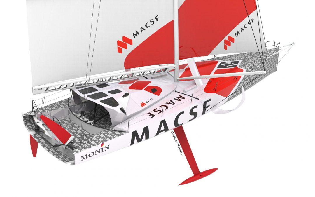 L'IMOCA MACSF dévoile son nouveau design !