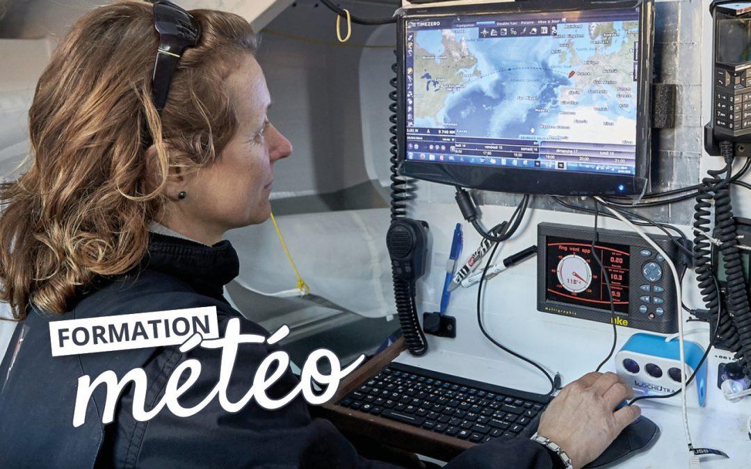 Focus Vendée Globe 2020 : Isabelle peaufine sa préparation météo à terre