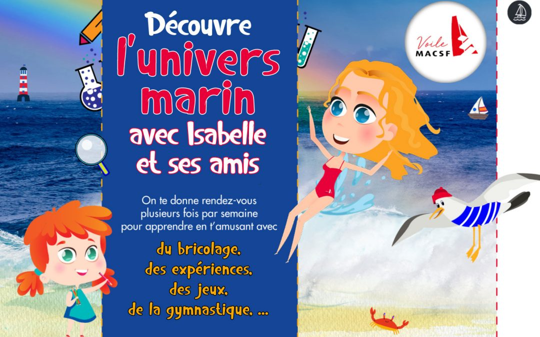 Fiches pédagogiques : «Découvre l'univers marin avec Isabelle Joschke et ses amis»