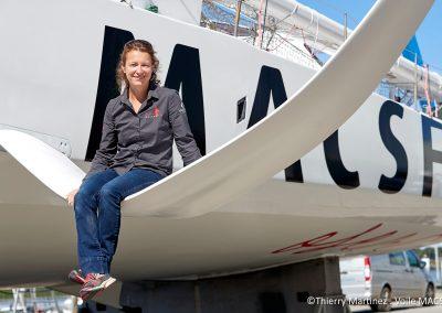 L'IMOCA MACSF prêt à reprendre la mer !