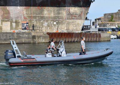L'IMOCA MACSF prêt à reprendre la mer - © Lanic Sport Team