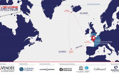La Vendée-Arctique-Les Sables d'Olonne commentée par Isabelle Joschke et Alain Gautier