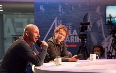 Isabelle, invitée du Café de la Marine du jeudi 24 septembre aux côtés d'Armel Tripon