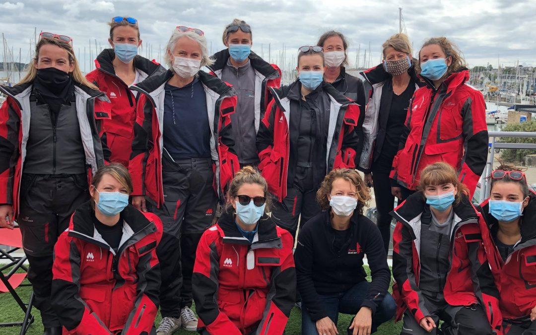 Deux équipages féminins au Spi Ouest France 2020 sous les couleurs de la MACSF !