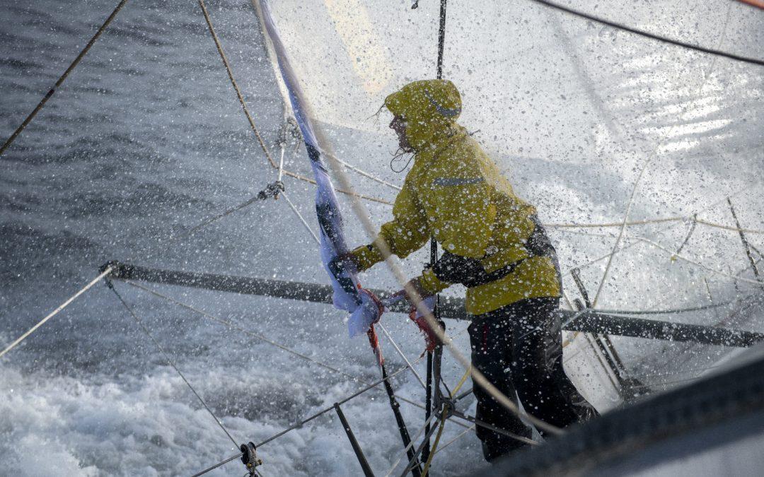Ursuit : des combinaisons pour rester au sec et au chaud sur le Vendée Globe !