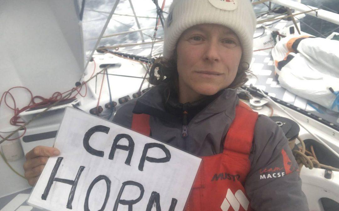Isabelle a franchi le cap Horn : «J'ai touché le fond, maintenant je vais pouvoir remonter»