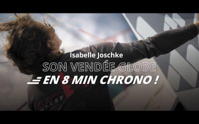Le Vendée Globe d'Isabelle en 8 minutes chrono !