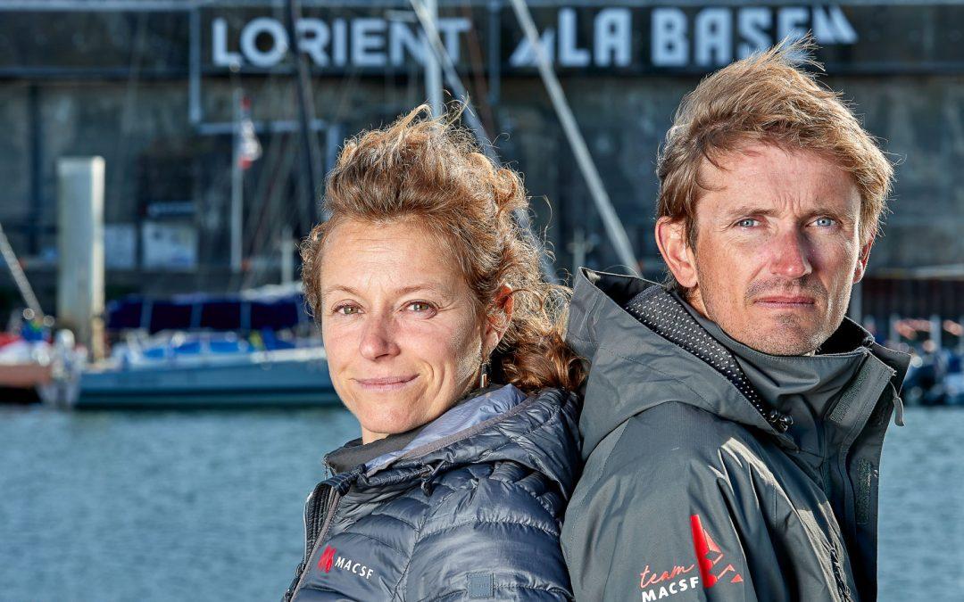Isabelle embarque Fabien Delahaye comme co-skipper sur la Transat Jacques Vabre 2021 !