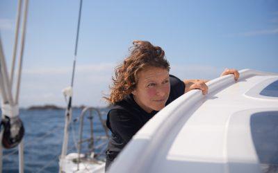Isabelle tire un bilan positif de sa Rolex Fastnet Race