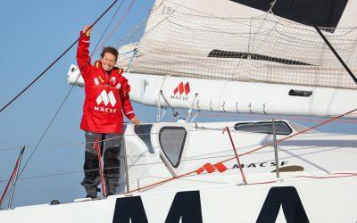 Objectif Vendée Globe 2024 : Isabelle poursuit l'aventure avec la MACSF !